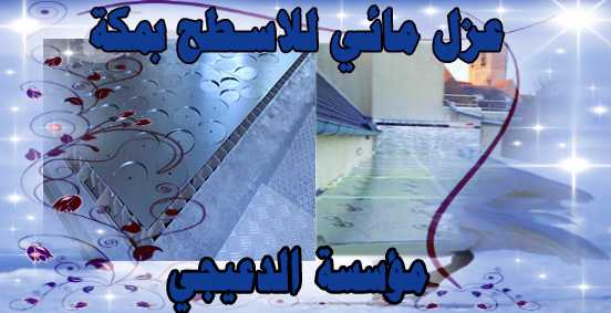 عزل مائي للاسطح Water insulation for surfaces